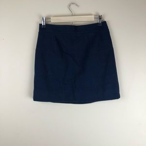J. Crew black label career mini skirt sz 4 small